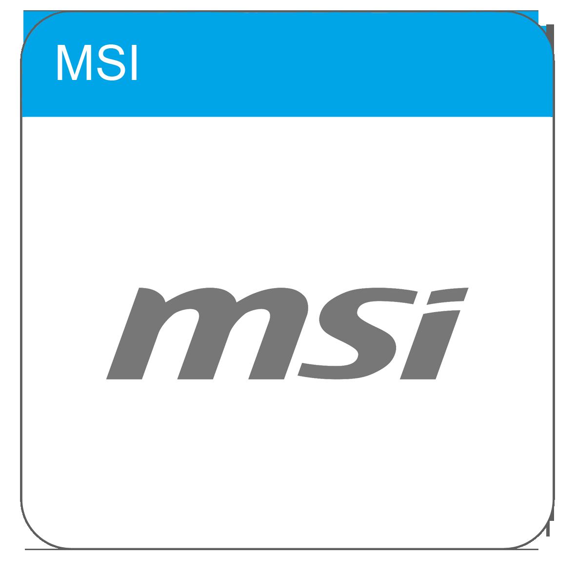 MSI Drivers & Handleidingen
