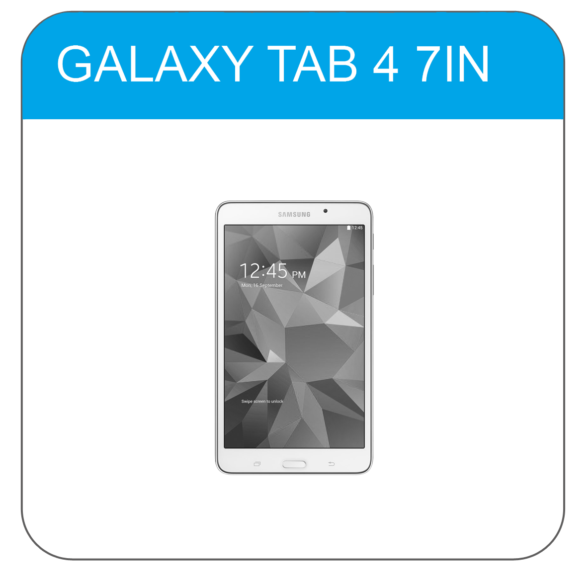 Samsung Tab 4 7In